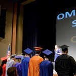 The students of the Ombudsman class of 2015 were officially graduates following their commencement on Wednesday night. — Daily News/Brad Klosner