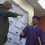 Kids Who Didn't Give Up Earn Diplomas