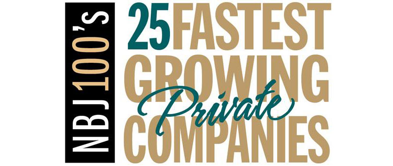 Nashville Business Journal's NBJ100's 25 Fastest Growing Private Companies